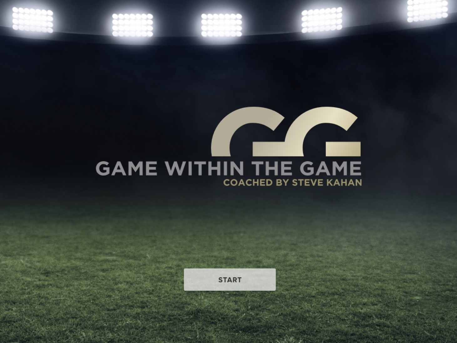 Game within the Game Start Screen